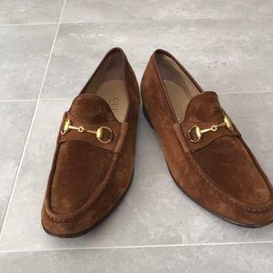 Gucci Men's Suede Loafer
